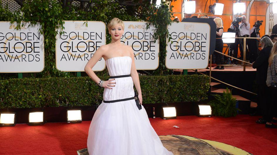 El vestido de Jennifer Lawrence, tema de mofa en la red