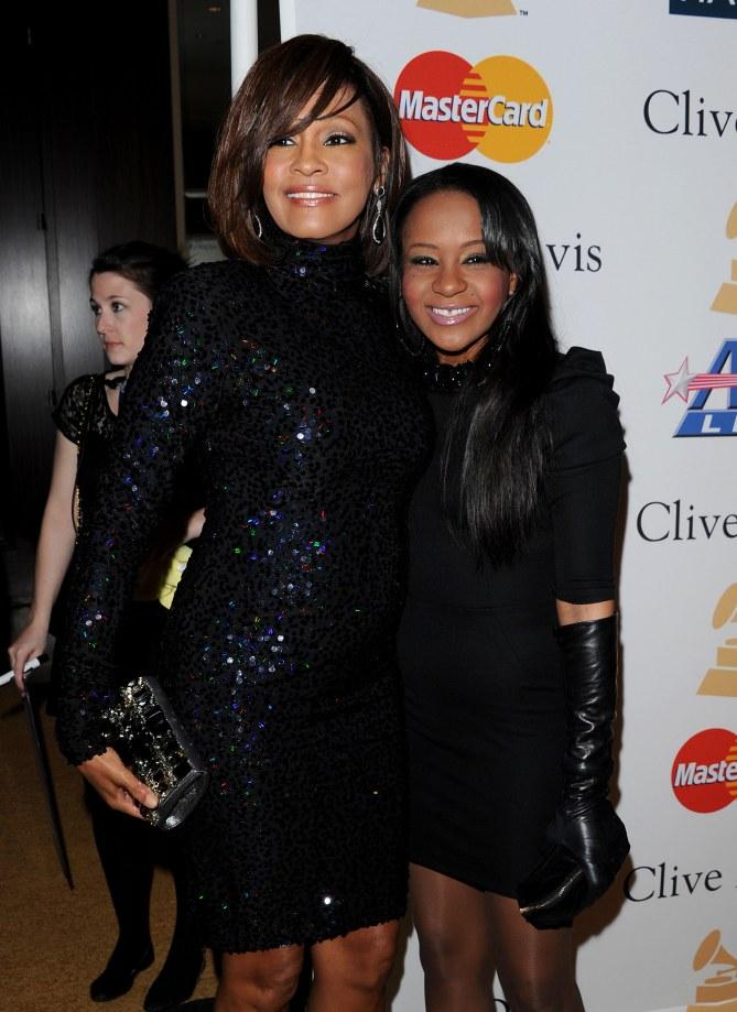 Bobbi Kristina e Whitney Houston