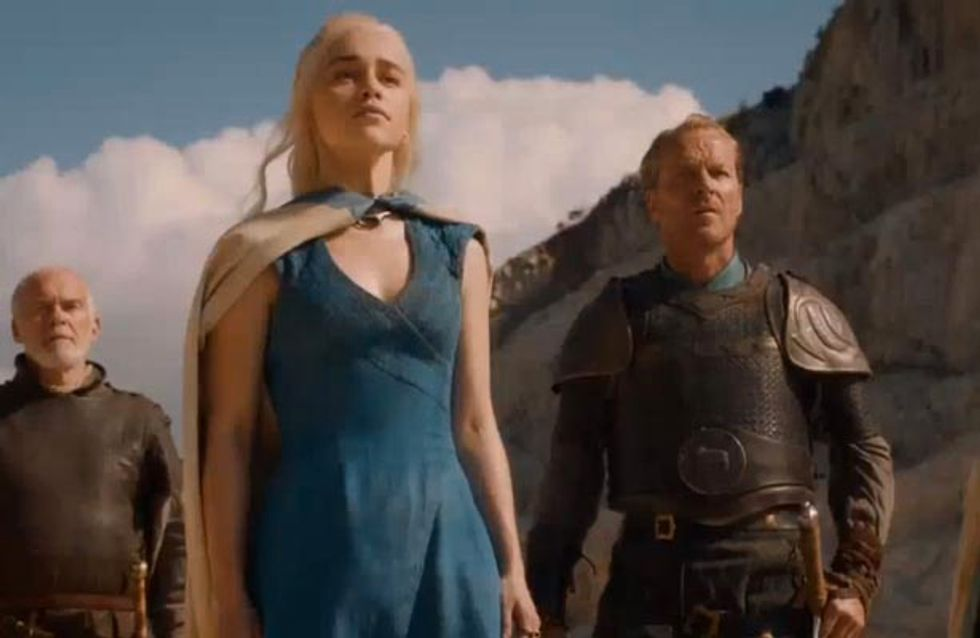 WATCH: The brand new Game of Thrones series 4 trailer is here!
