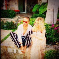 Ashlee Simpson : Fiancée au fils de Diana Ross (Photos)