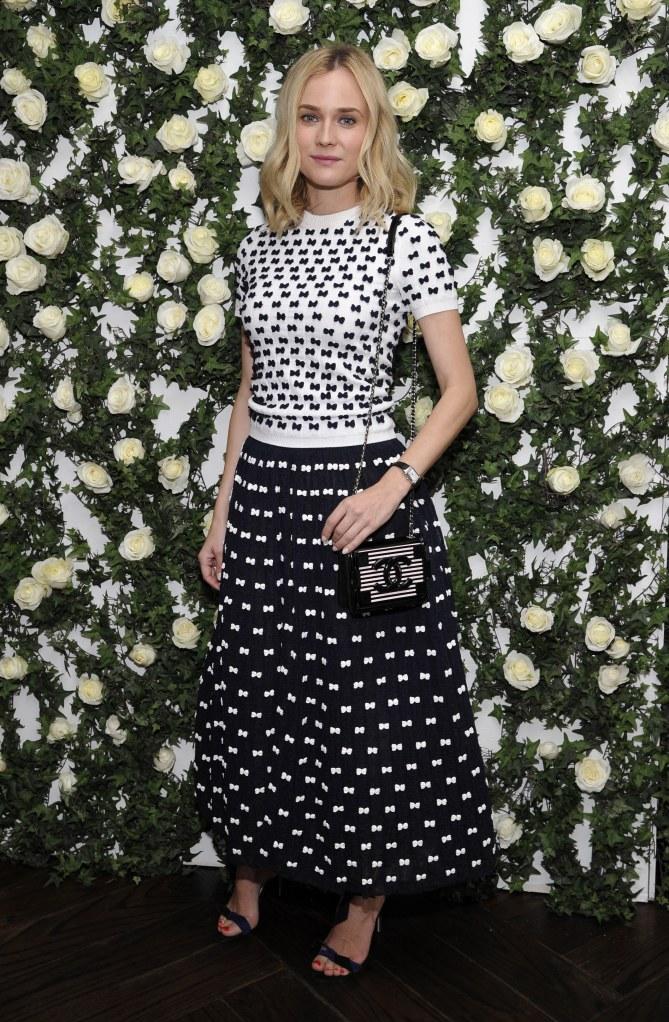 Diane Kruger le 11 janvier 2014 à Los Angeles