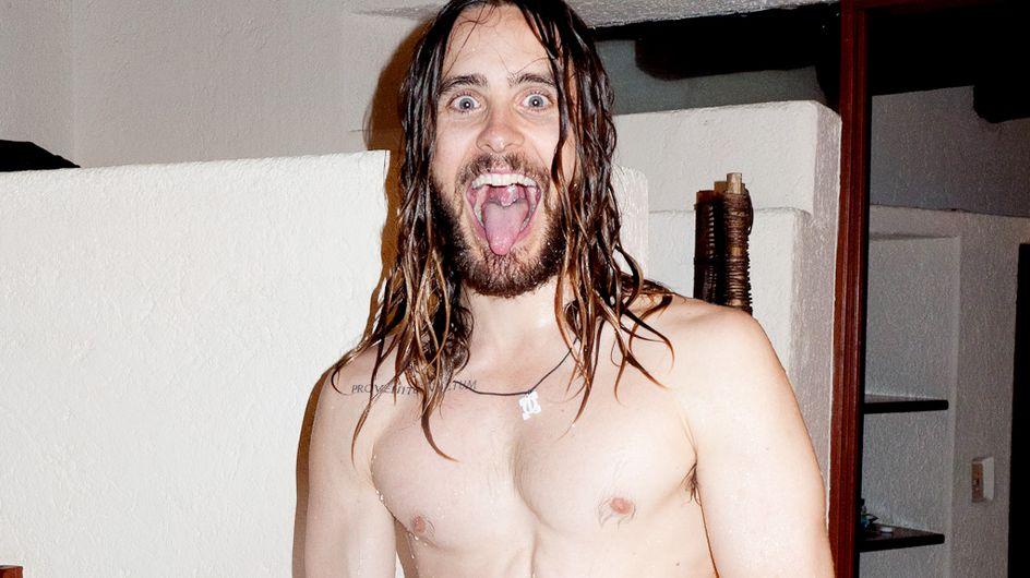Endlich wieder Muckis: Jared Leto fast ganz nackt!
