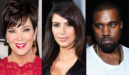 Kris Jenner - Kim Kardashian - Kanye West