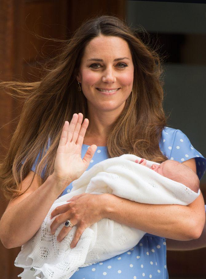 Kate & Baby George