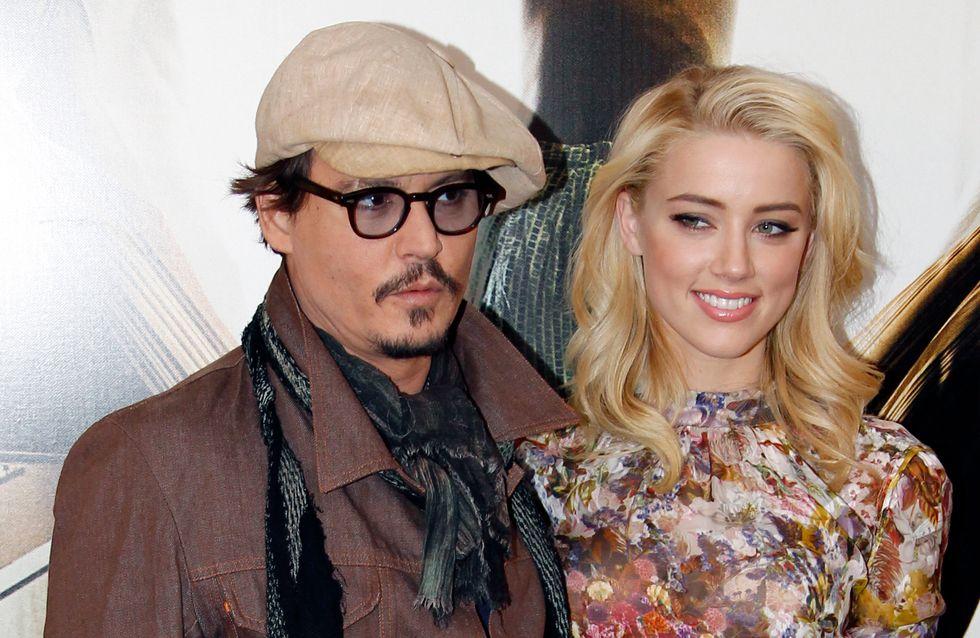 Johnny Depp et Amber Heard fiancés ?