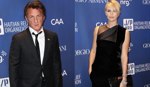 Charlize Theron e Sean Penn