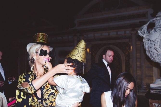Beyoncé et Blue Ivy fêtent le Nouvel An