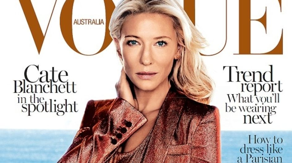 Cate Blanchett : Trop bronzée pour la couverture de Vogue (Photo)