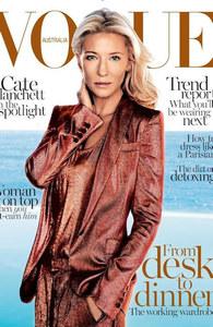 Cate Blanchett pour Vogue Australie