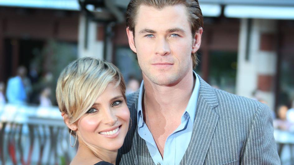 Elsa Pataky y Chris Hemsworth esperan mellizos