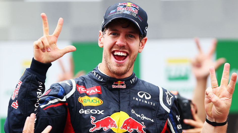 Sebastian Vettel: Juhu, das Baby ist da!