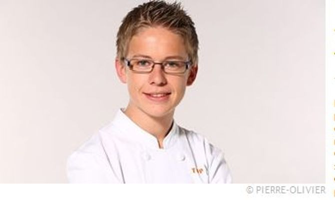 Jordan Vignal, 18 ans vient de Haute Savoie. Apprenti