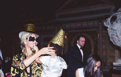 Beyoncé e la piccola Blue Ivy