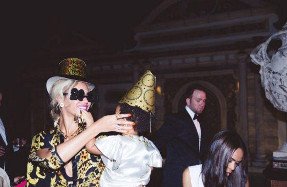 Beyoncé festeggia con la figlia: foto