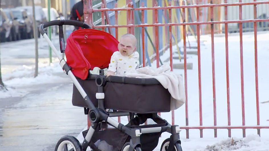 Insolite : Un bébé démoniaque terrifie New York (Vidéo)