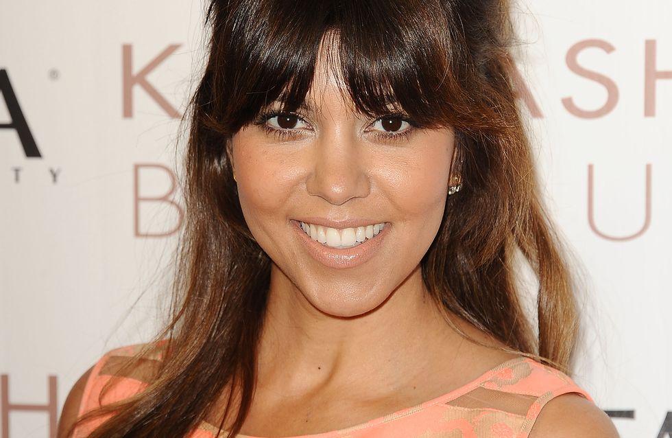 Kourtney Kardashian : Sans maquillage pour un selfie sportif (photo)