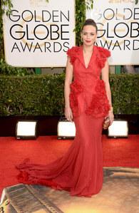 Bérénice Bejo aux Golden Globes 2014