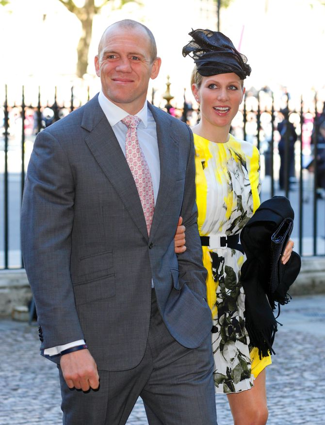 Zara Phillips a accouché