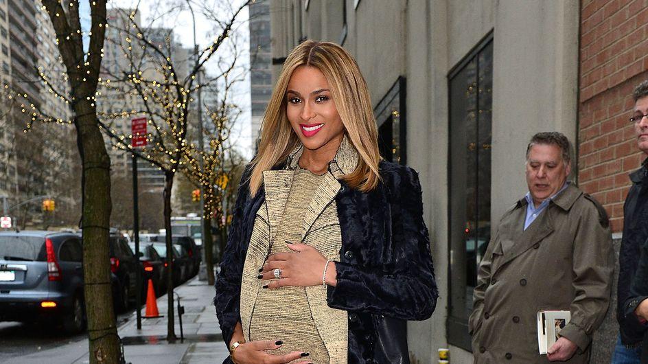 Ciara : La chanteuse est enceinte (Photos)