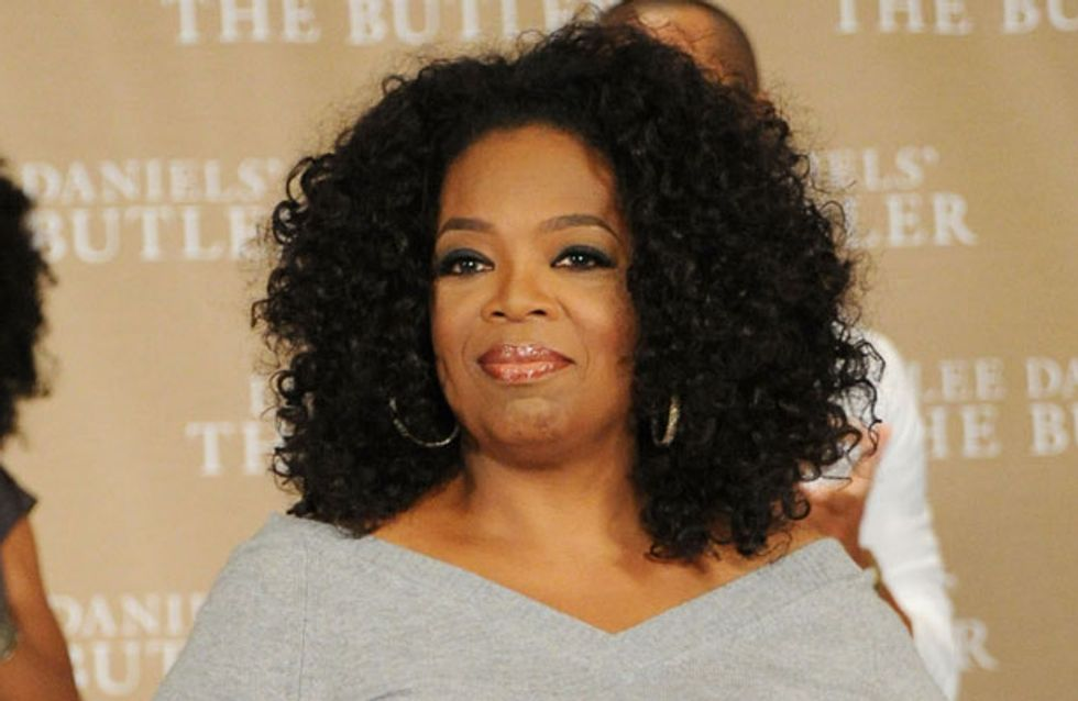 "Oprah Winfrey says working with Lindsay Lohan has ""been bumpy"""