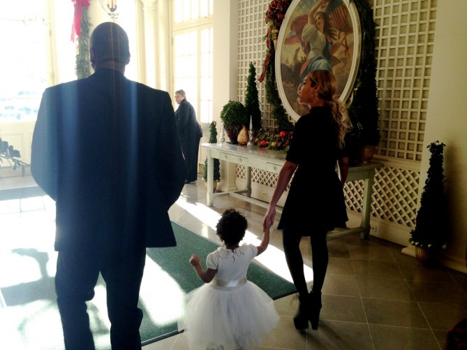 Beyoncé, Jay-Z & Blue Ivy