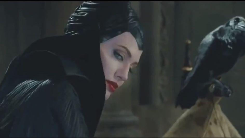 Angelina Jolie : Effrayante dans le nouveau teaser de Maléfique (vidéo)