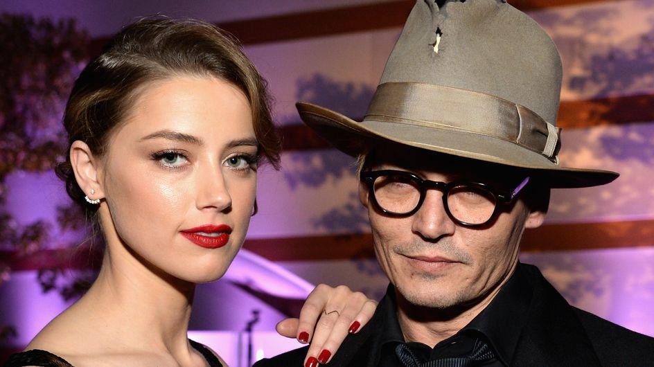 Johnny Depp : Mariage en vue avec Amber Heard !