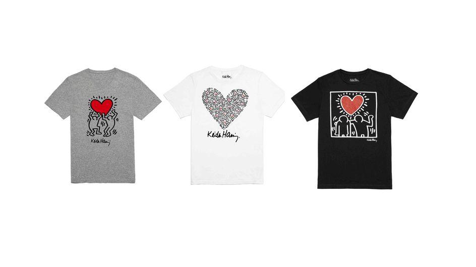 La Halle x Keith Haring : Une collection capsule originale pour la Saint-Valentin