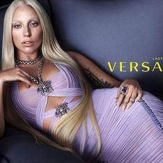 Lady Gaga : Grande star du défilé Versace