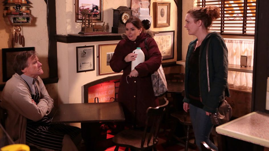 Coronation Street 27/01 – Fiz thinks there's more to Roy's grief