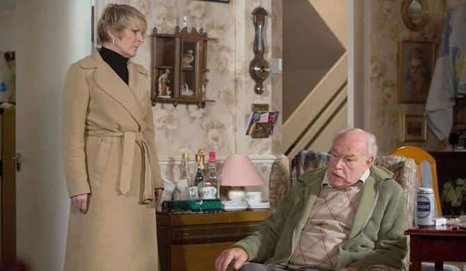 Stan brings up Shirley's family
