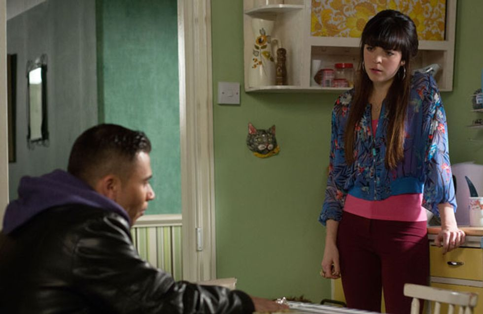 Eastenders 30/01 – Poppy is annoyed when Fatboy tells her off