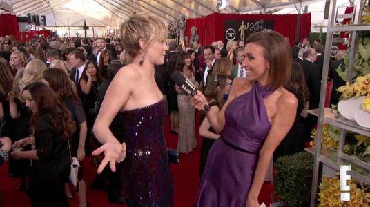 Jennifer Lawrence aux SAG Awards 2014