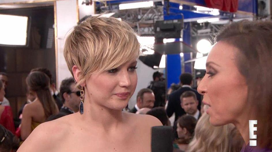 Jennifer Lawrence aux SAG Awards : Elle compare ses aisselles à un vagin (vidéo)
