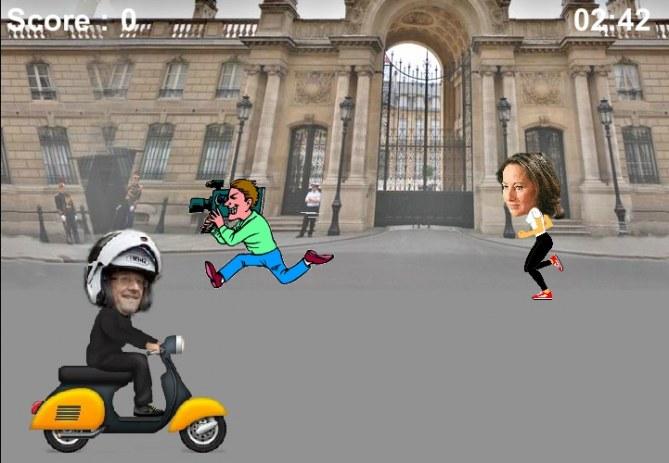 Le jeu du Scooter