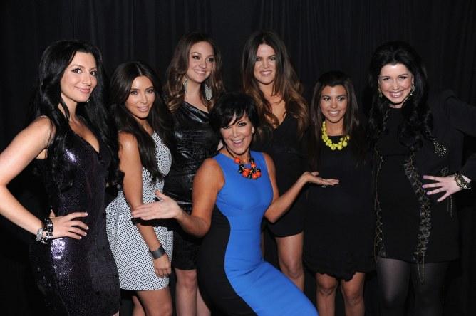 Kim Kardashian, Khloé Kardashian, Kris Jenner