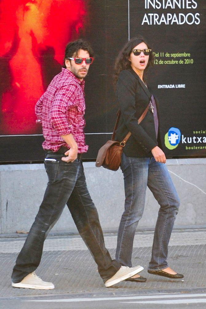Eduardo Noriega y su mujer Trinidad Oteros