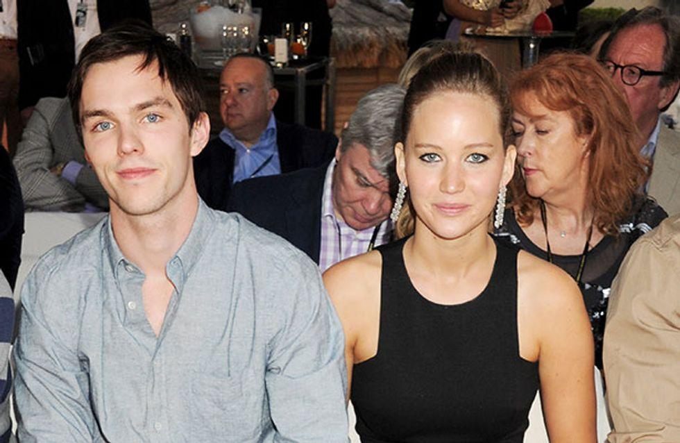 "Nicholas Hoult on Jennifer Lawrence: ""She deserves it all"""
