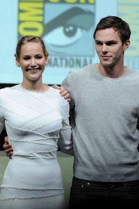 Jennifer Lawrence and Nicholas Hoult
