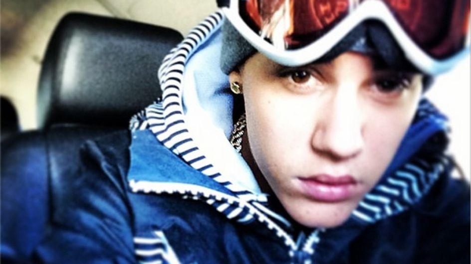 Muss das sein? Justin Bieber pinkelt in den Schnee!