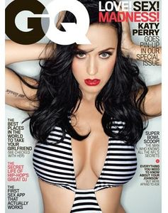 Katy Perry pour GQ