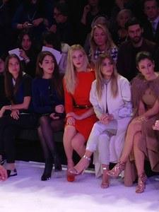 Kim Kardashian, au premier rang du défilé Stéphane Rolland Haute Couture printemps-été 2014