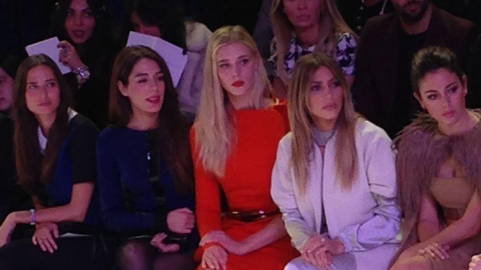Kim Kardashian : Invitée d'honneur à la Fashion Week de Paris (photos)