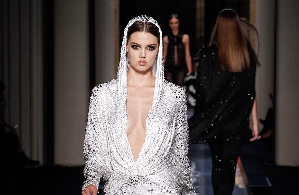 Atelier Versace : Le défilé Haute Couture Printemps-Eté 2014 en vidéo