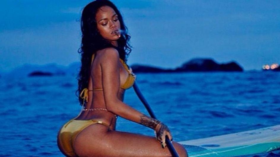 Heiß, heißer, Rihanna! Die Sängerin zieht im Urlaub blank!