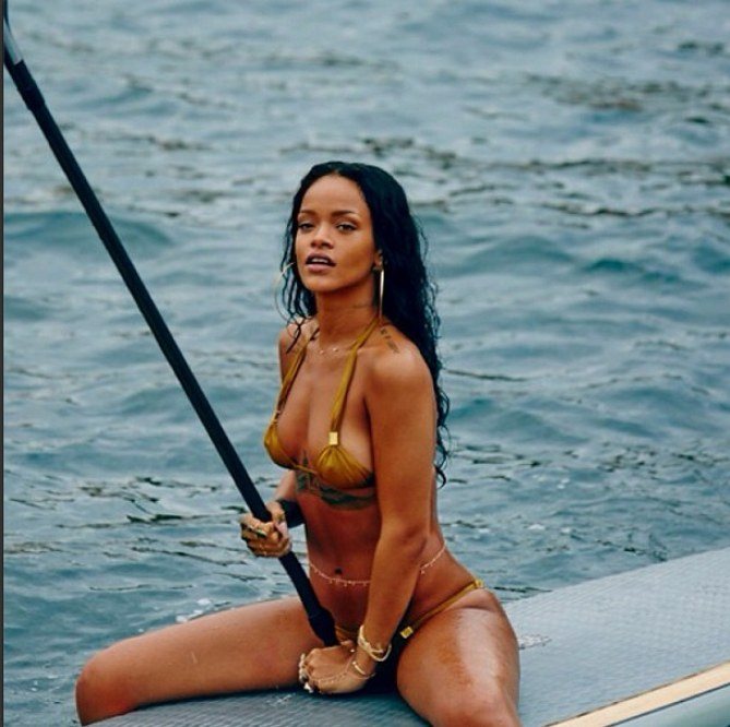 Rihanna in Brasilien