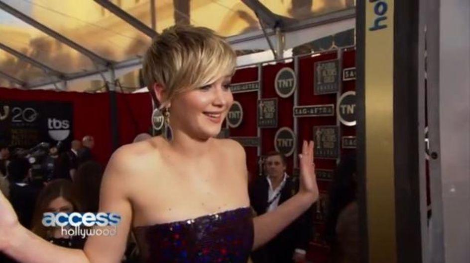 Jennifer Lawrence : La preuve vidéo qu'elle est vraiment cool !