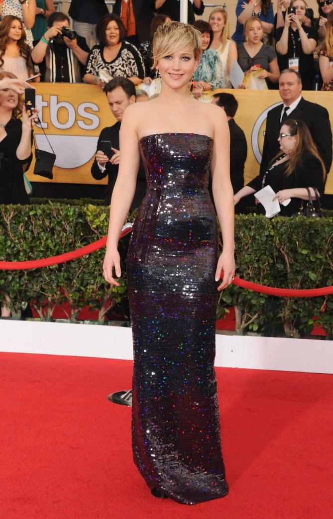 Jennifer Lawrence aux SAG Awards