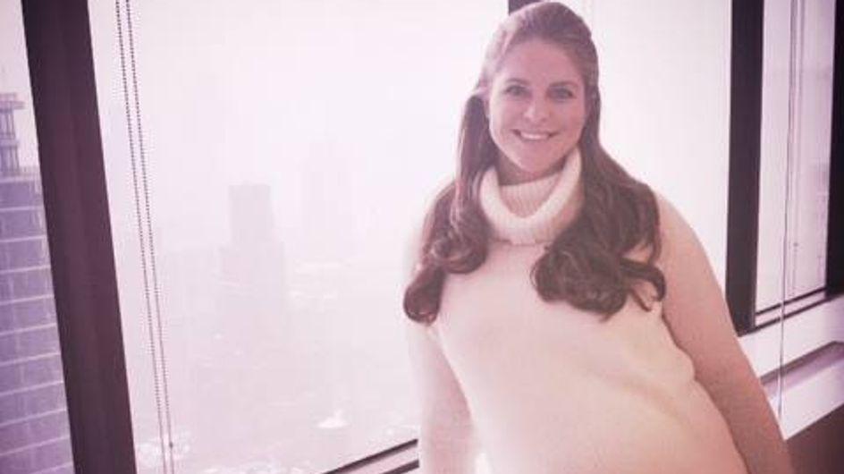 Prinzessin Madeleine: Ihr Babybauch ist schon riesig!