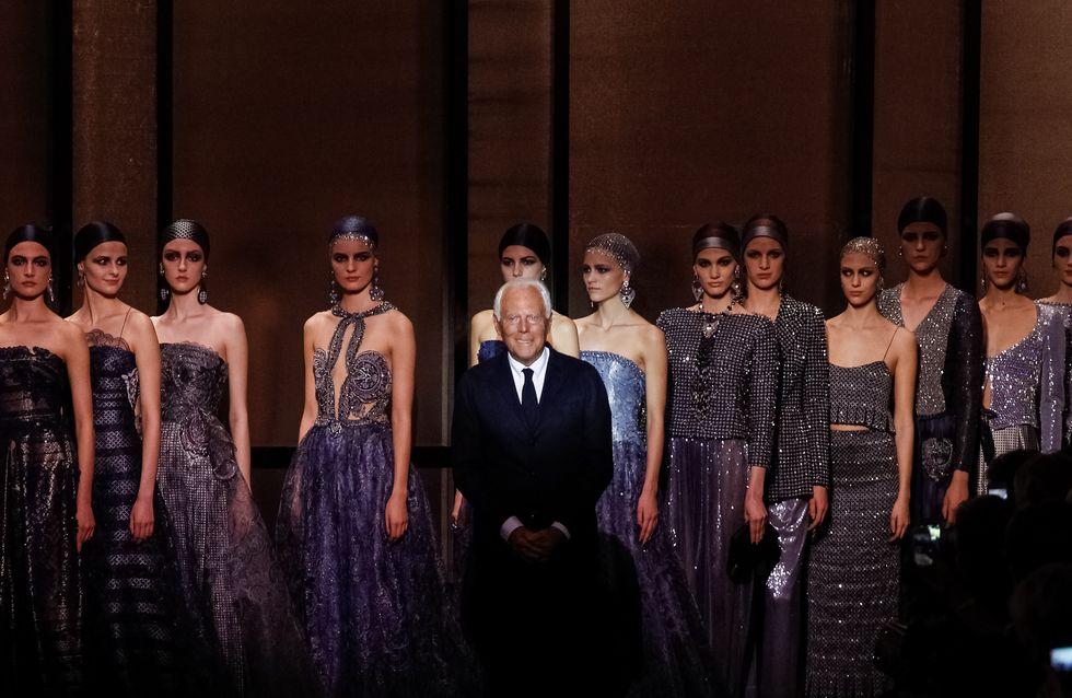 Giorgio Armani Privé : le défilé Haute Couture Printemps-Eté 2014 en vidéo